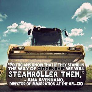 AFL-CIO Steamroller Politicians Against Amnesty