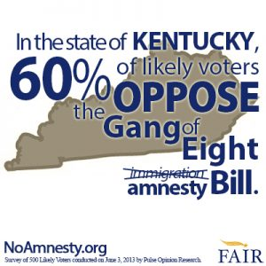 60% of KY Voters Oppose S.744