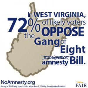 WV voters oppose amnesty