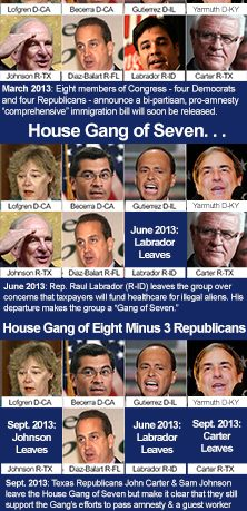 Timeline of Collapse of House Gang of 8