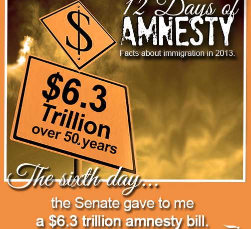 12 Days of Amnesty- Day 6