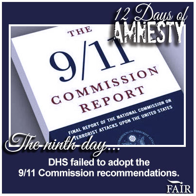 12 Days of Amnesty: Day 9