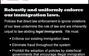 What True Immigration Reform Looks Like: Enforce Laws