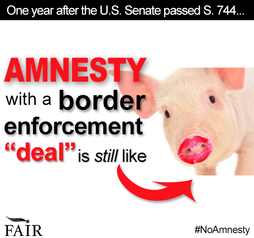 Amnesty with a border enforcement deal is still like lipstick on a pig.