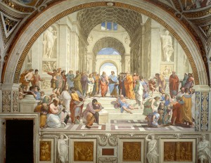 School-of-athens-by-raphael