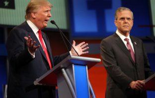 Trump and Jeb Bush