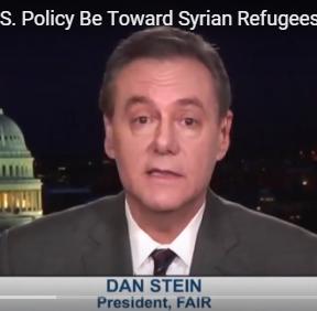 Dan Stein on Syria Refugees