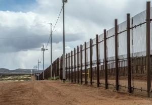 Border fence at Naco Arizona