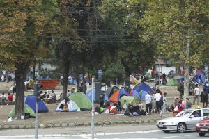 Syrian immigrants in Serbia