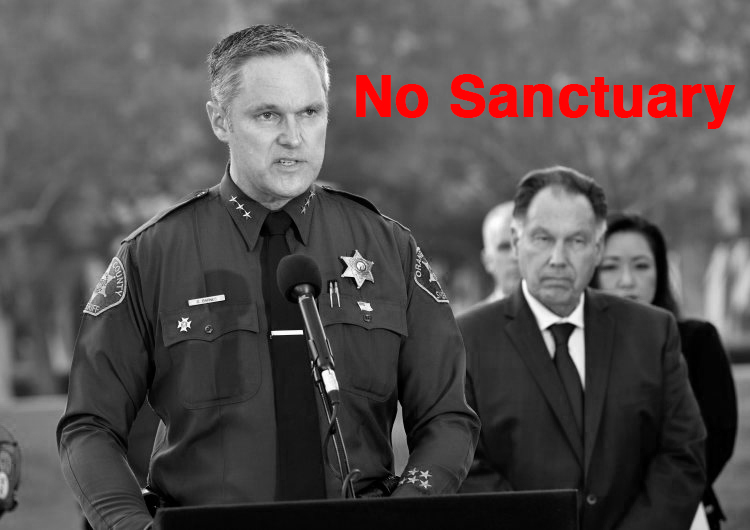 Orange County sheriff fights back against sanctuary state designation